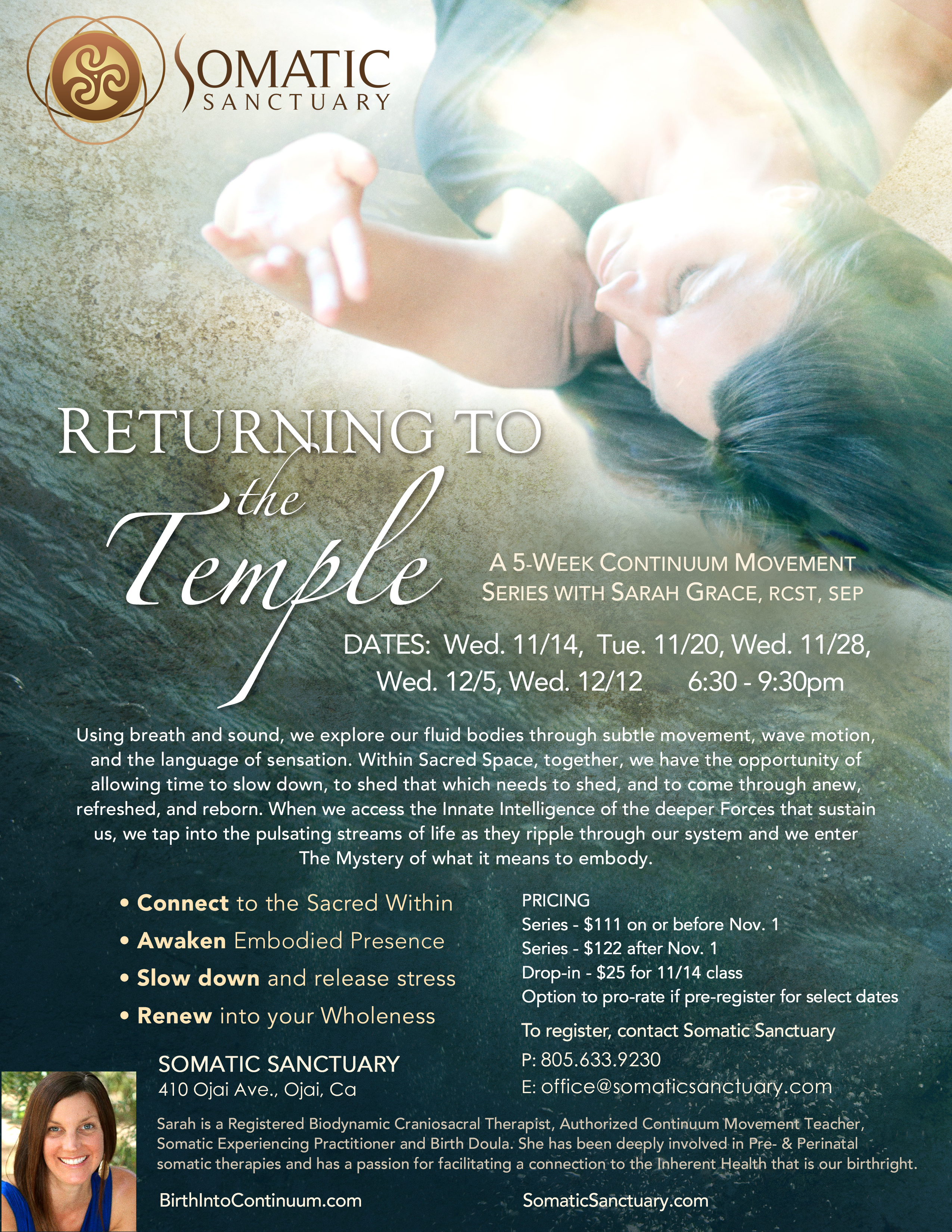 Returning to the Temple
